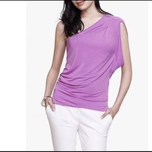 Express Women's One Sleeve Top. Size Large